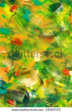 Colorful painted canvas as background