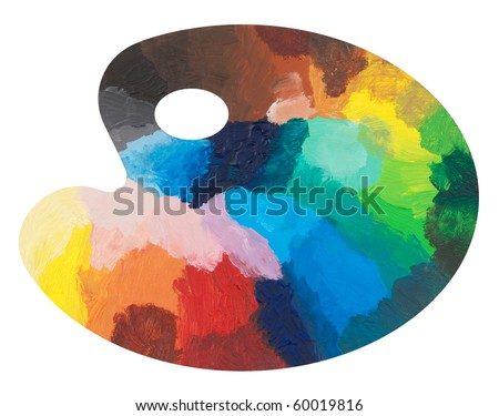 Colorful palette