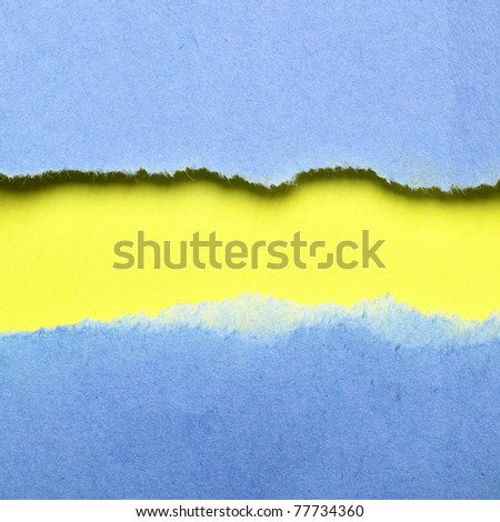 Colorful paper background with space for your text - stock photo