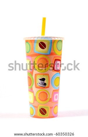 colorful paper cup