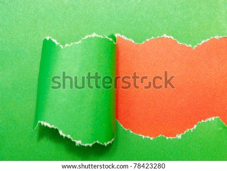 colorful paper with space