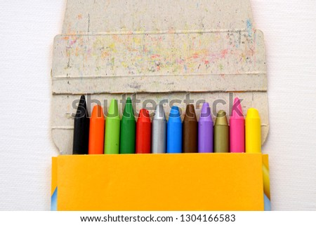 Colorful pastel chalks #1304166583
