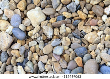 colorful pebbles as a background image