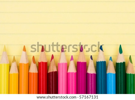 crayon research paper If i was a crayon i might be a blue or green one since those are my favorite colors i would like to be put into a box of sixty-four or more because there.