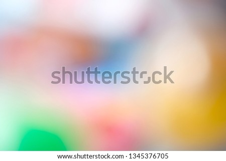 Colorful picture blurred for Background or abstract background.