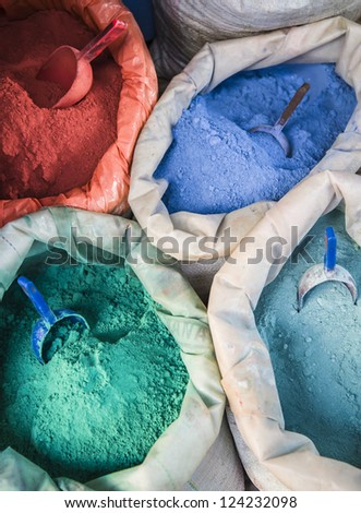 Colorful pigments
