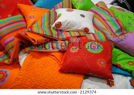 stock photo : Colorful Pillows