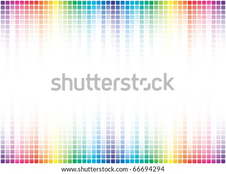 colorful pixel background with copy-space
