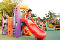 Colorful playground for kids