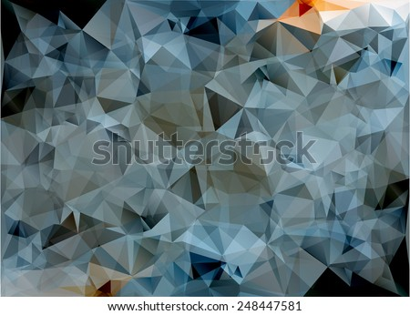 Colorful Polygonal Mosaic Background, illustration,  Creative  Design  #248447581