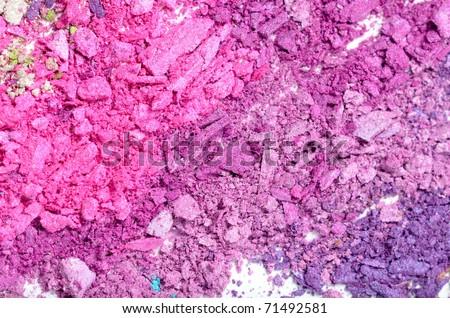 colorful powder eyeshadow
