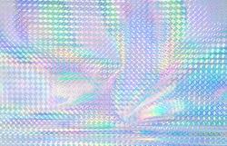Colorful rainbow color hologram.