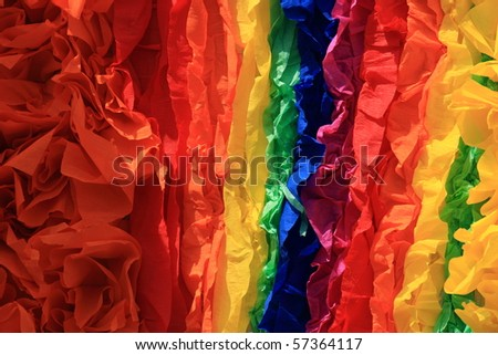colorful rainbow homosexual symbol