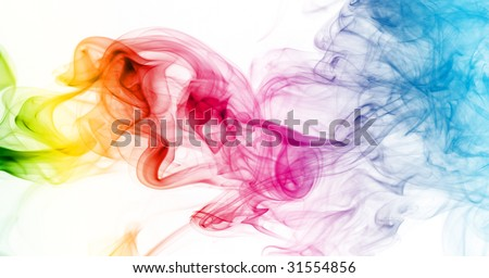 Colorful Rainbow Smoke