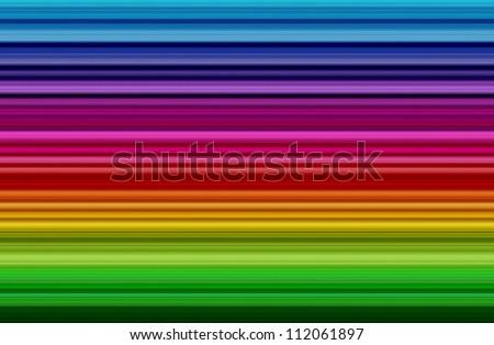 Colorful rainbow strip