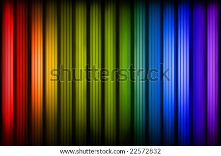 Colorful rainbow stripes