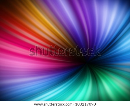 Colorful Rainbow vortex background. Soft and delicate colors, great as a background or backdrop
