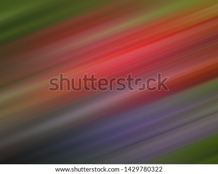 colorful, red, purple and green abstract motion blur motion line