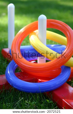 Colorful ring game for kids