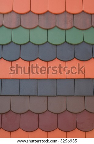 colorful roof tiles 2.