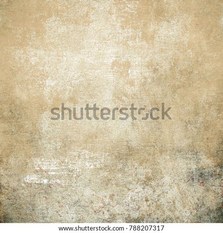 Colorful Seamless Grunge Pattern. Abstract Messy Painted Antique Texture. Modern Futuristic  #788207317