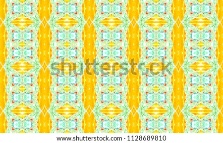 Colorful seamless ornament for textile and design #1128689810