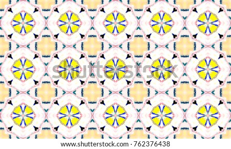 Colorful seamless pattern for textile and design #762376438