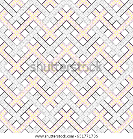 Colorful seamless striped ornament for textile, design and backgrounds