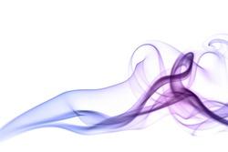 colorful smoke isolated