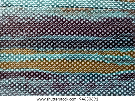 colorful snake skin image for using as background
