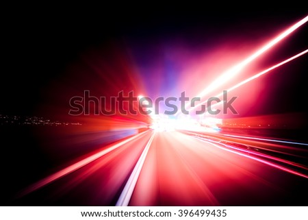 Colorful speed motion background  #396499435