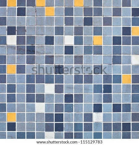 Colorful square mini tiles as a background image