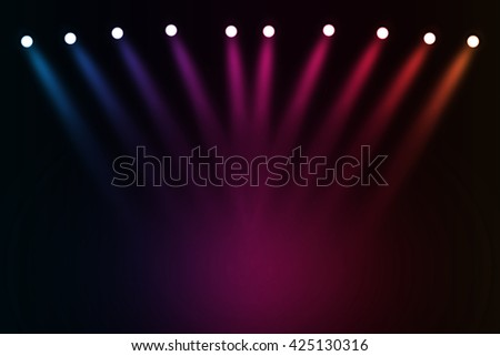Colorful stage background #425130316