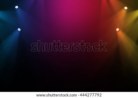 Colorful stage background  #444277792