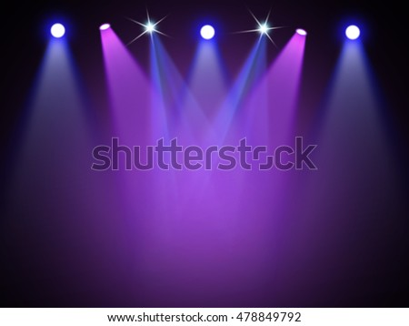 Colorful stage background #478849792