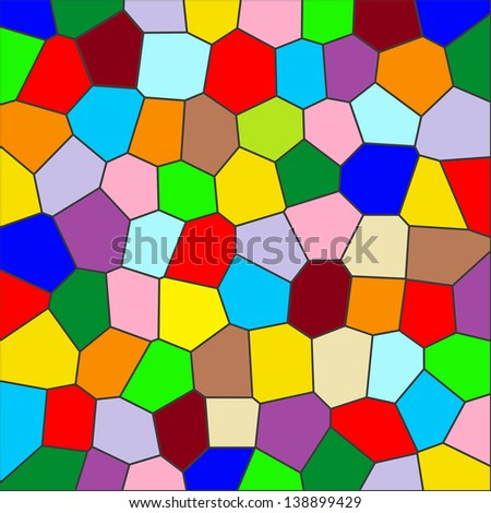 colorful stained-glass windows. stained glass texture. Design and art concept. Abstract background