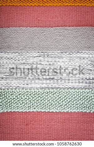 Colorful striped carpet as background #1058762630