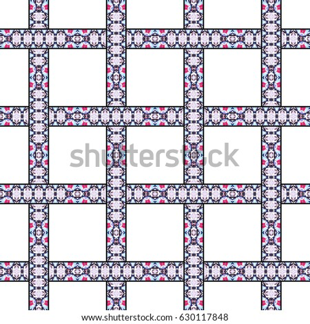 Colorful striped seamless pattern for textile, design and backgrounds #630117848