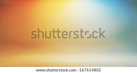 Colorful studio background