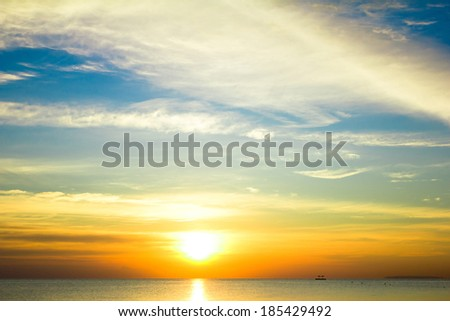 Colorful Sunrise  #185429492