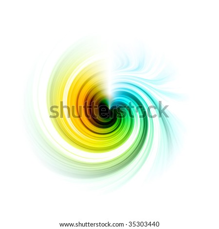 Colorful swirly abstract background