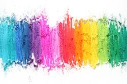 colorful texture pastel stick dust