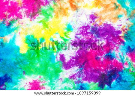 colorful tie dye pattern abstract background. #1097159099