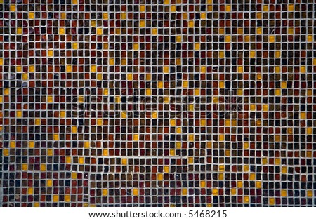 Colorful tiled background