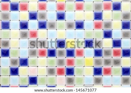 colorful tiles, texture  background