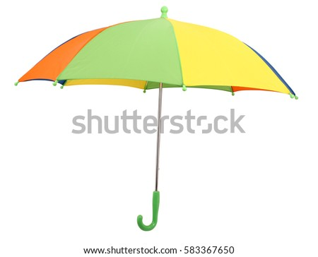 Colorful umbrella #583367650
