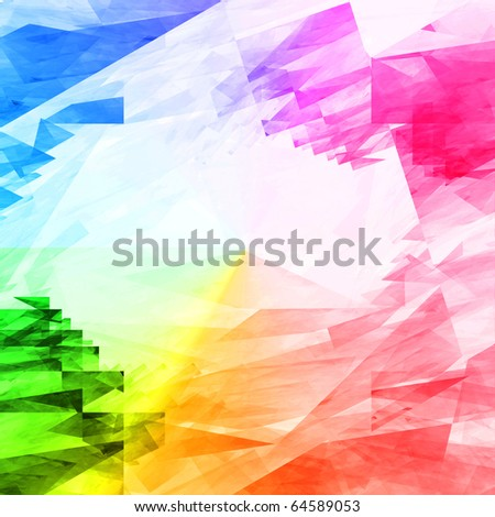 Colorful vibrant textured background - stock photo