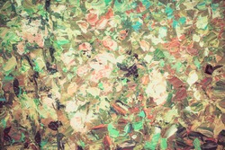 Colorful watercolor painting abstract flower texture, can be use as background or wallpaper in vintage color