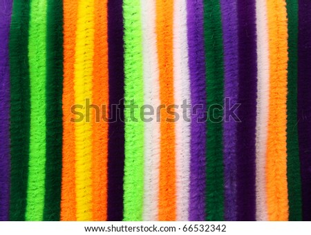 Colorful wire cable