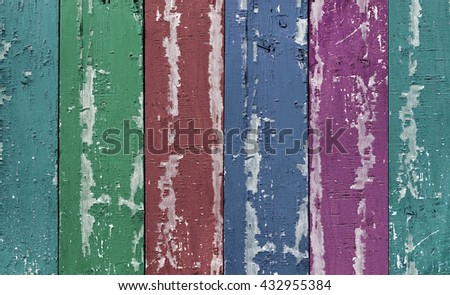 colorful wood. vintage...